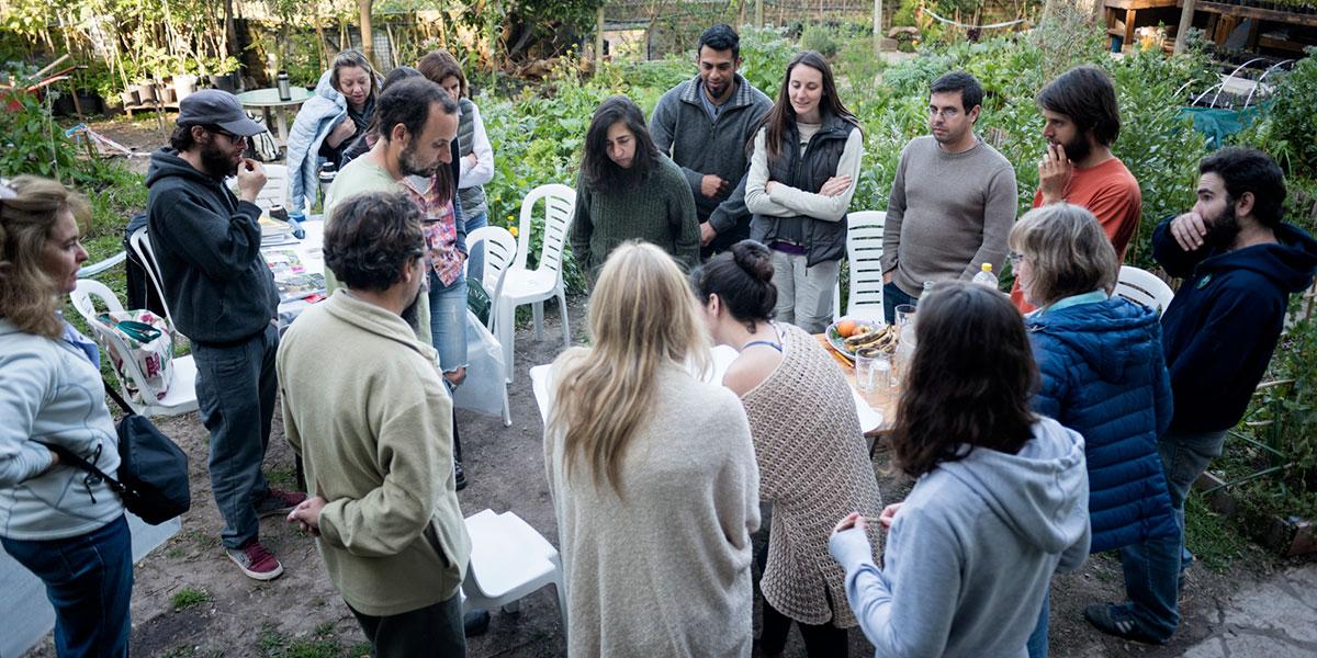 Taller de diseño de espacios verdes sustentables