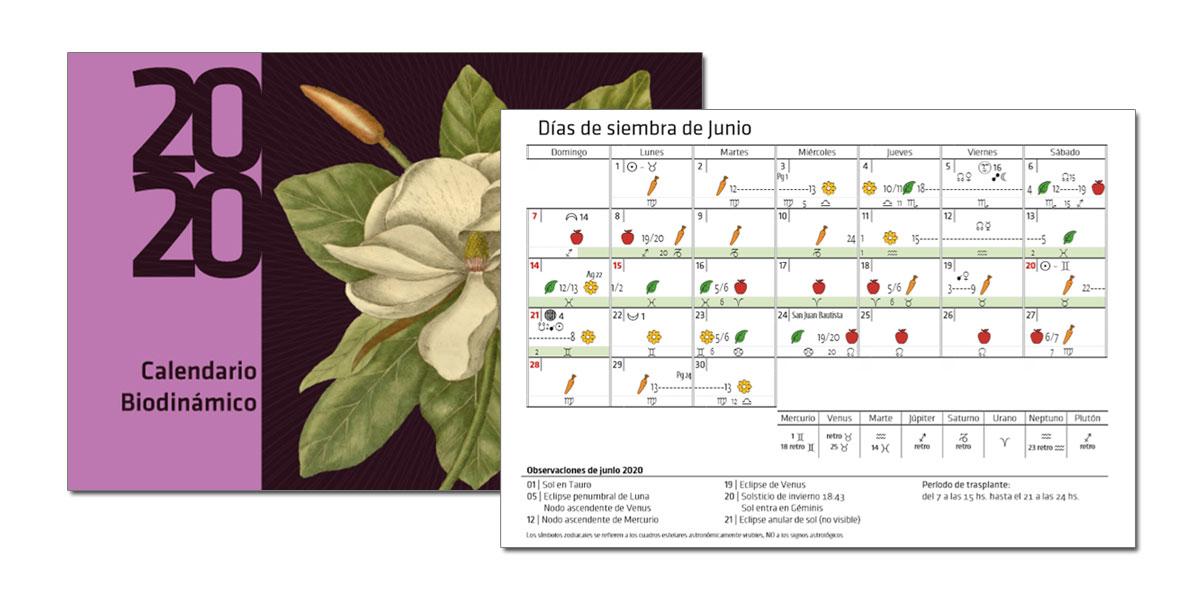 Calendario Biodinámico